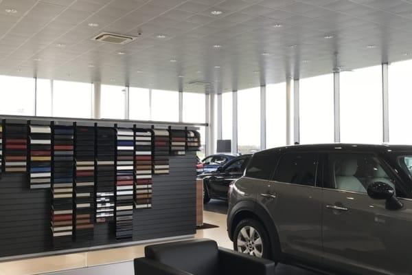 Faux-plafonds Concession automobile Lannion