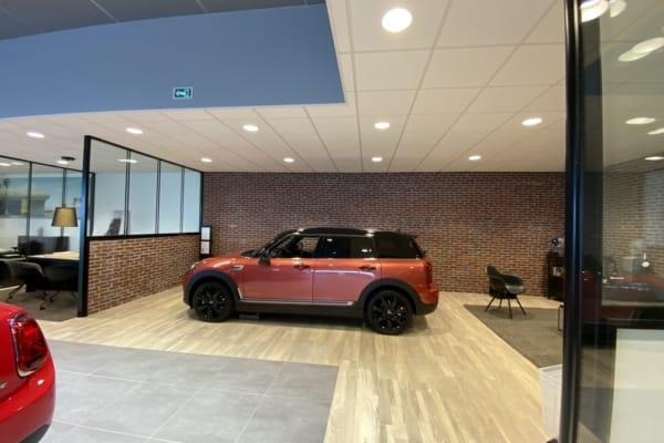 Faux-plafonds Concession automobile Brest